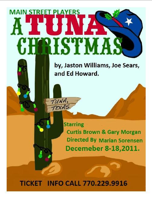 A Tuna Christmas.Mainstreet Players Blog Archive A Tuna Christmas